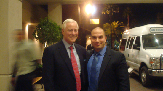 Bill and Brian Tracy
